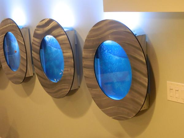 See our Porthole Wall Aquariums on the TV Show Mancaves